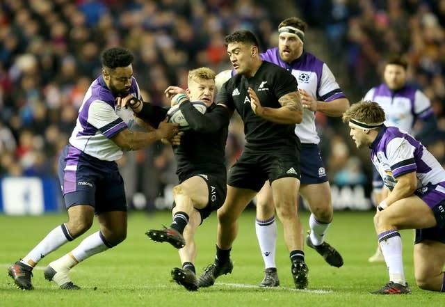 New Zealand and Scotland are due to play each other twice this year (PA)
