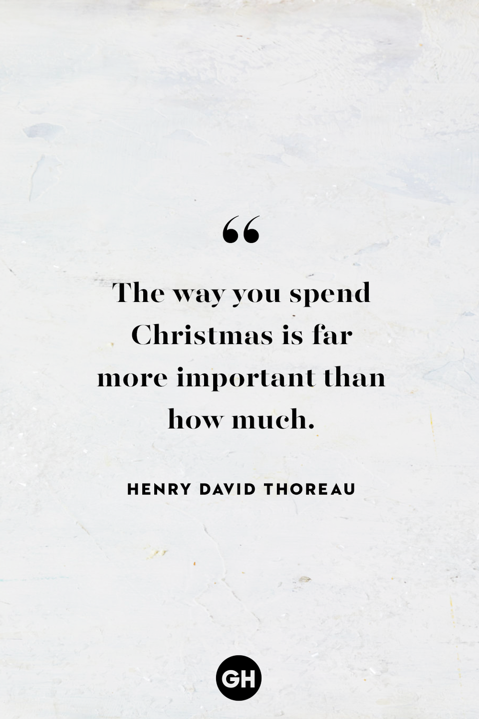 <p>The way you spend Christmas is far more important than how much.</p>