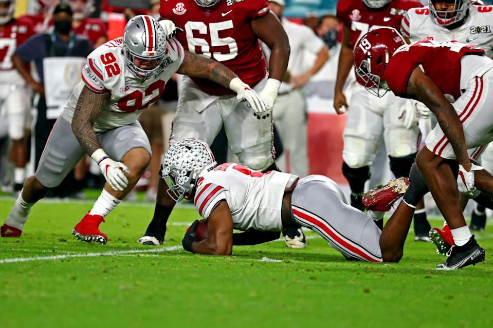Ohio State down big to Alabama at half, must find adjustments