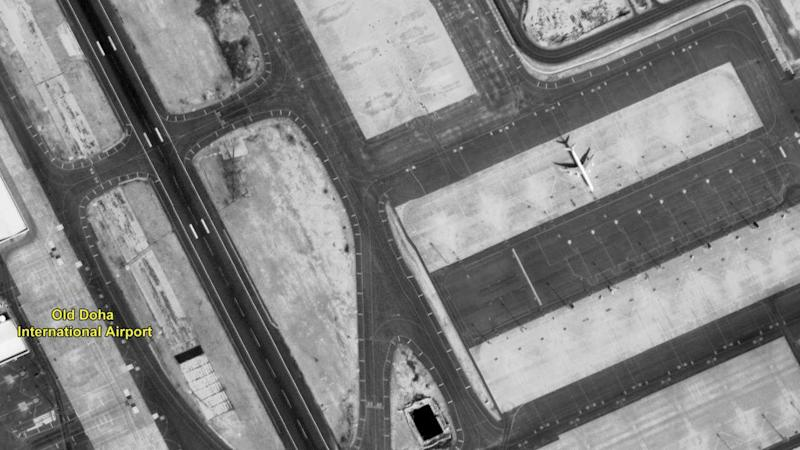 The old Doha airport, captured by CartoSAT-3 Image credit: ISRO