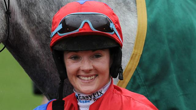 A female jockey has never won the Grand National, but Katie Walsh is hoping to put that right on Wonderful Charm at Aintree.