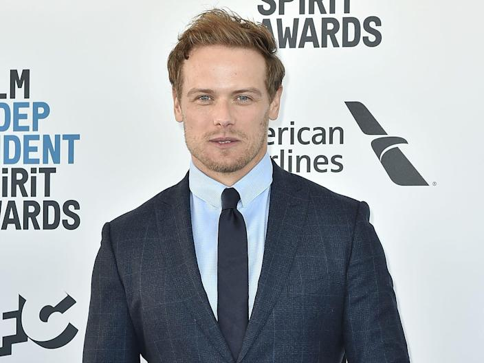 Sam Heughan is a Scottish actor.