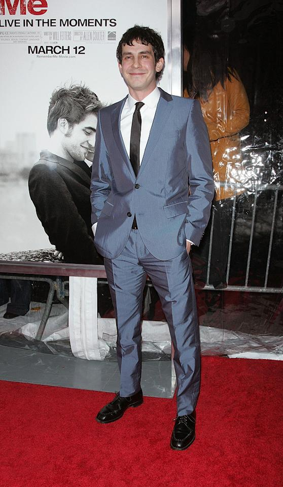 """<a href=""""http://movies.yahoo.com/movie/contributor/1809709347"""">Tate Ellington</a> at the New York City premiere of <a href=""""http://movies.yahoo.com/movie/1810076910/info"""">Remember Me</a> - 03/01/2010"""