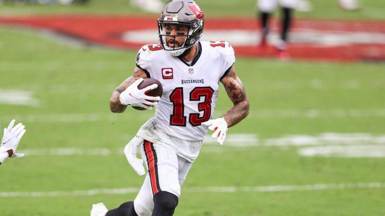 Bucs practice without top four wideouts