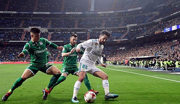 Primera Division: Wo kann ich Real Madrid in Leganes live sehen?