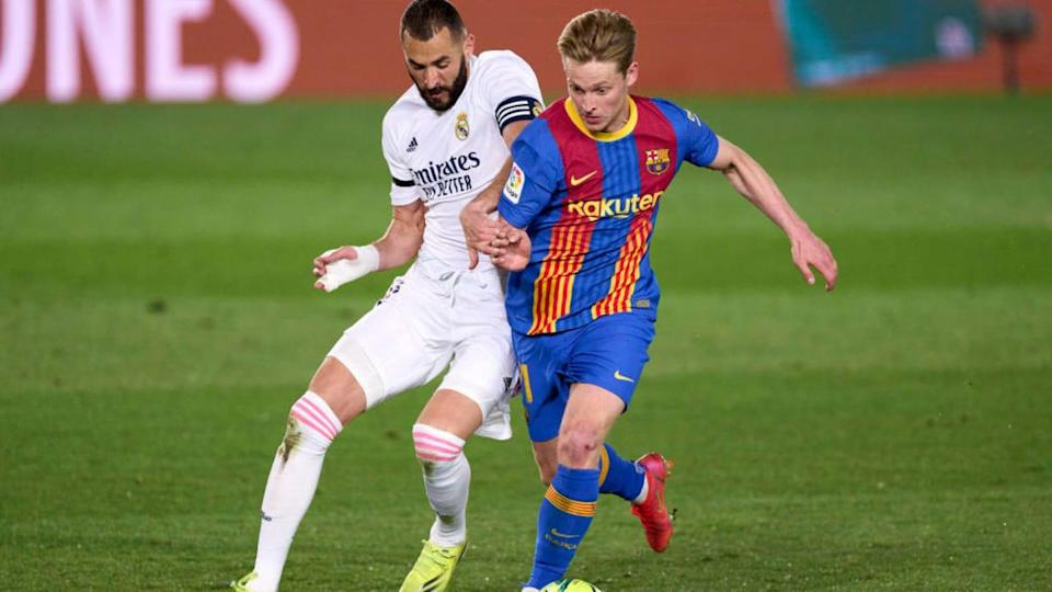 Benzema y De Jong   Quality Sport Images/Getty Images