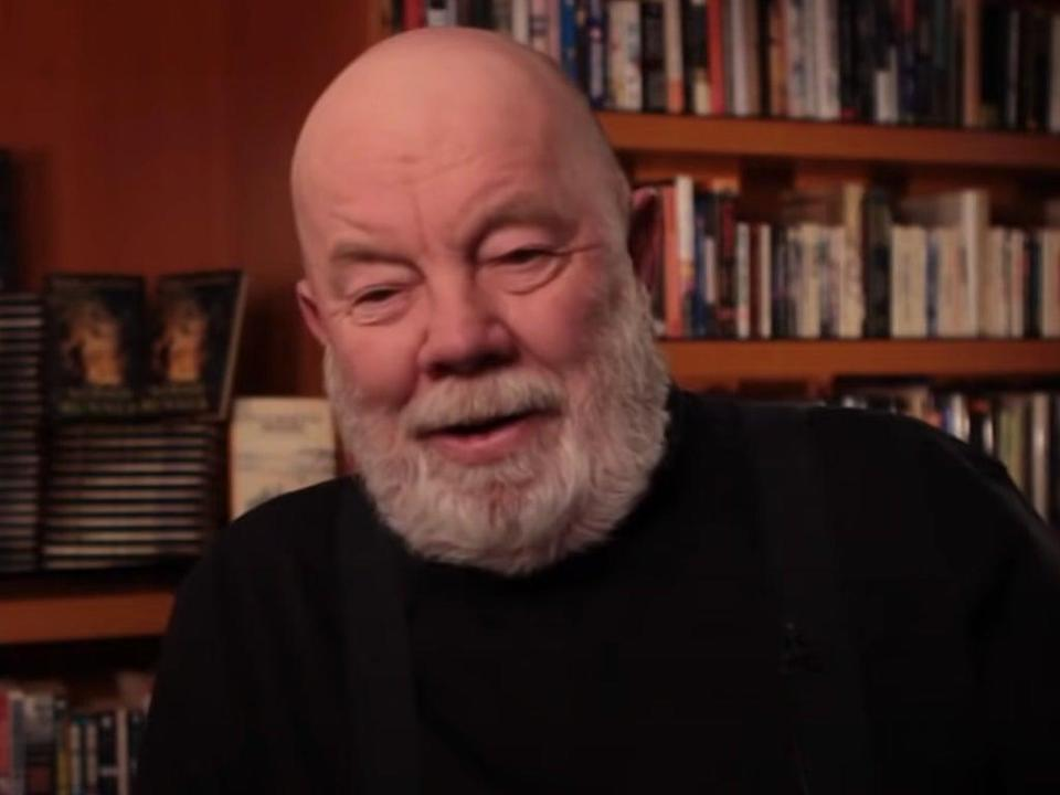 Gary Paulsen reflects on life as an author in a 2010 video (YouTube/Random House Kids)
