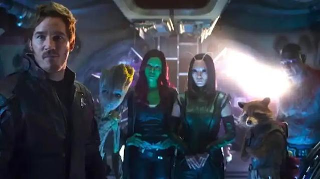 Guardians of the Galaxy in Avengers: Endgame (Credit: Disney/Marvel)