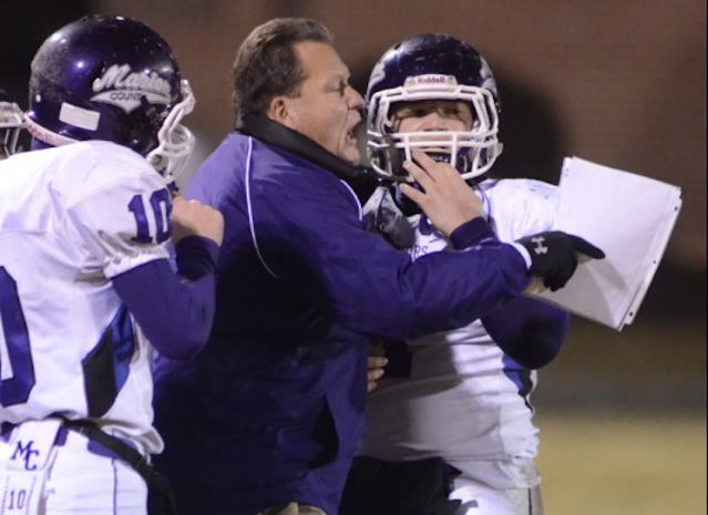 Marion County football coach Mac McCurry resigned from his position as the program was under investigation — AP
