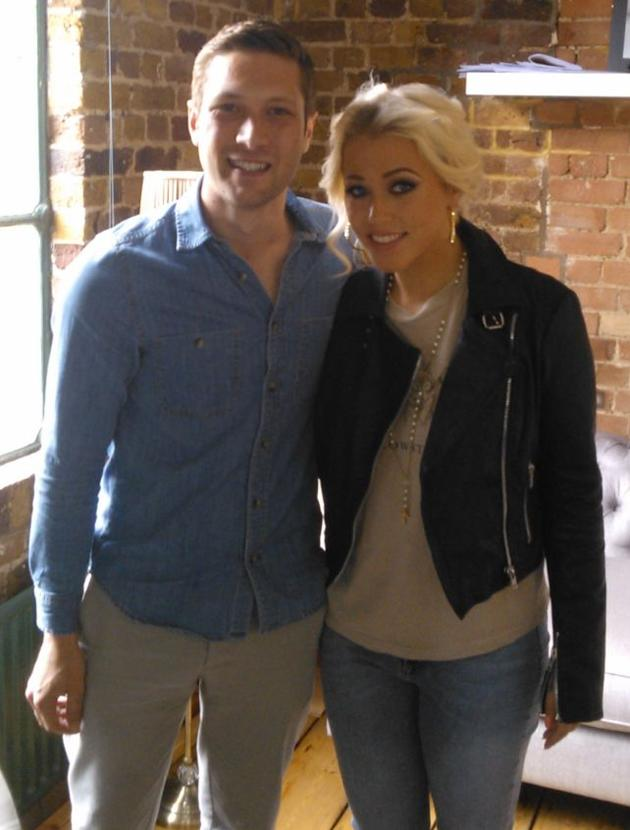 Celebrity photos: Amelia Lily gave us her take on the new X Factor panel and impressed omg!'s Chris.