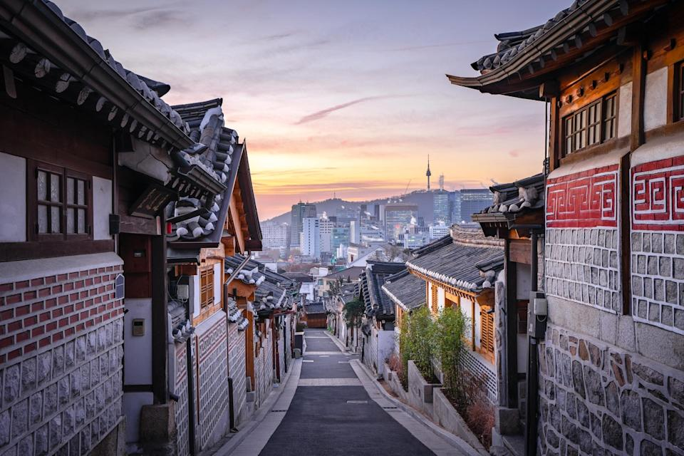 South Korea is open to British tourists, so long as you are happy to go into a mandatory quarantine on arrival - Getty