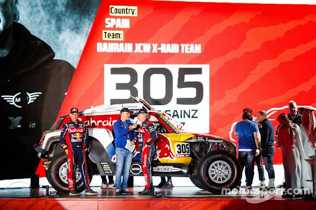 "#305 JCW X-Raid Team: Carlos Sainz, Lucas Cruz <span class=""copyright"">X-Raid Team</span>"