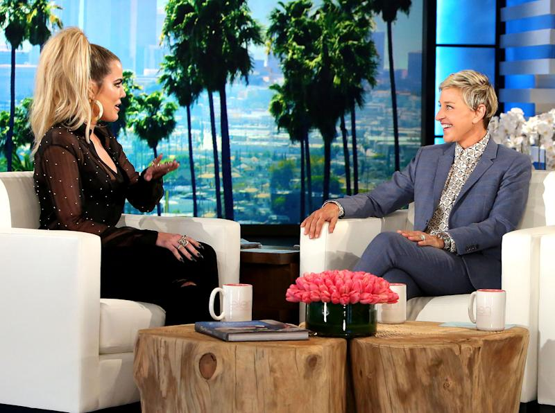 "Khloe Kardashian opened up about sister Kim Kardashian's Paris robbery during 'The Ellen DeGeneres Show'; 'She's not doing that well,"" she said — watch the video"