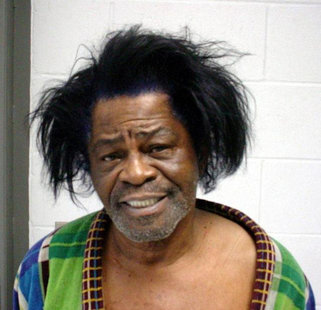 James Brown mug shot. (Photo: Getty)