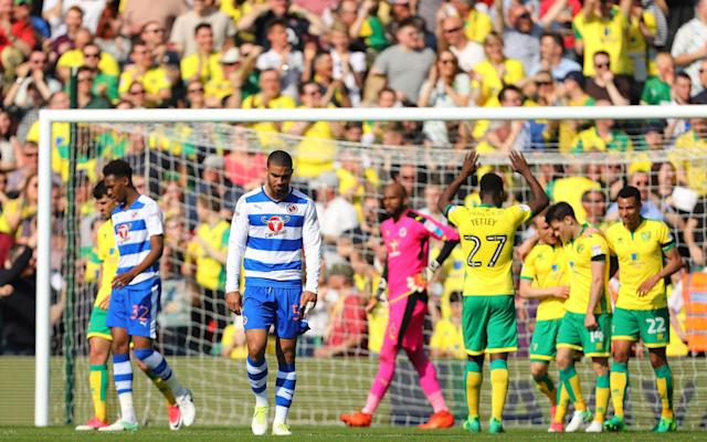 Reading are currently fourth in the Championship - Rex Features