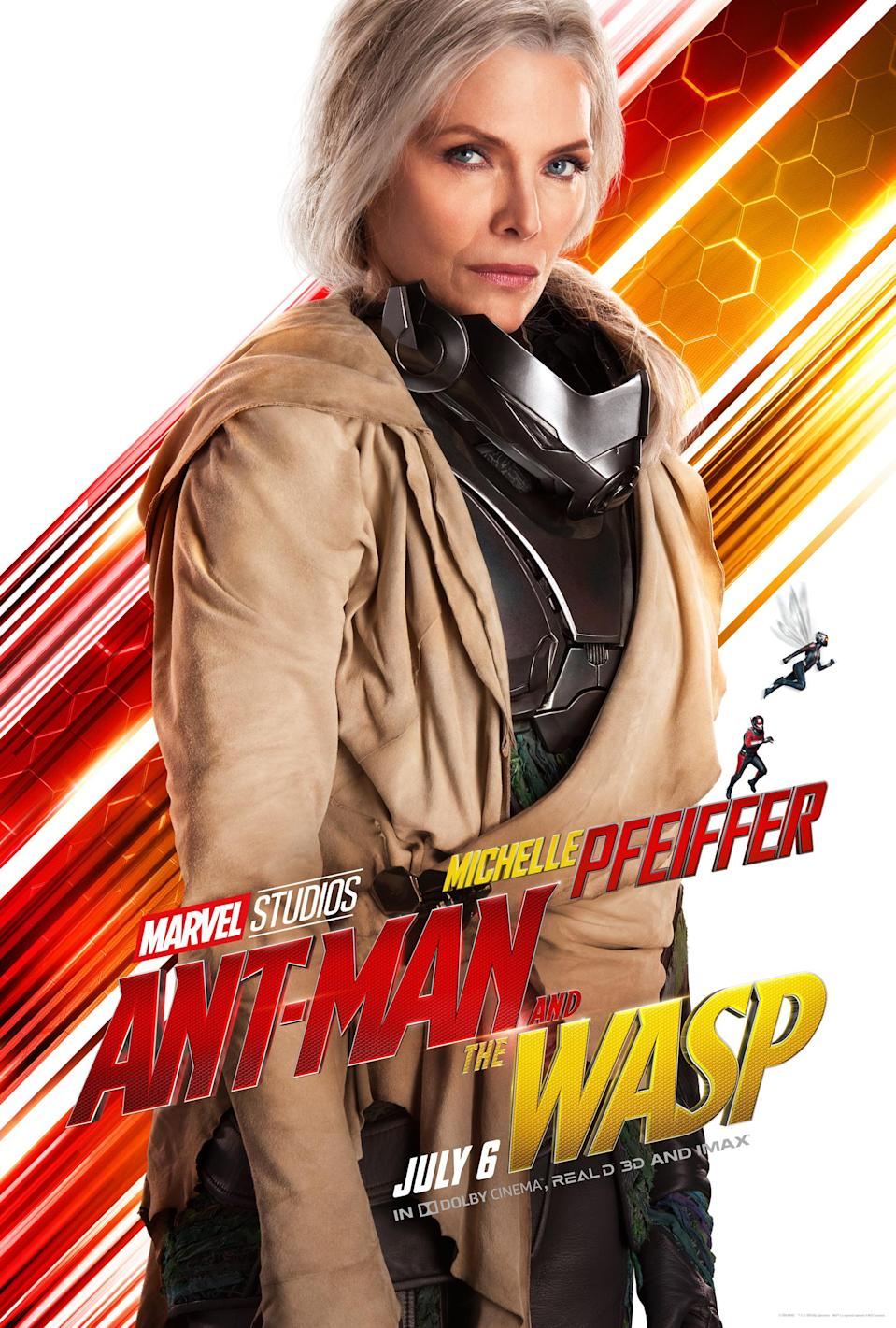 Michelle Pfeiffer in <i>Ant-Man and the Wasp</i>. (Image: Marvel)