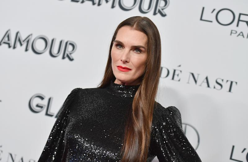 Brooke Shields showed off her impressive workout on social media. (Photo: ANGELA WEISS/AFP via Getty Images)