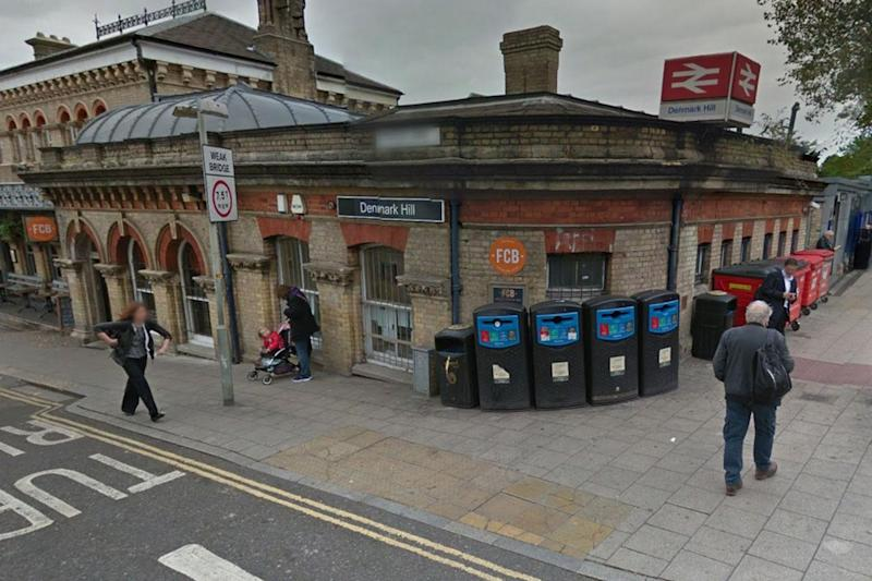 A 17-year-old girl was arrested in connection with an assault on a member of staff at Denmark Hill station on 15 April 2017