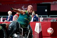 Australia's Ryley Batt is widely considered the world's best wheelchair rugby player