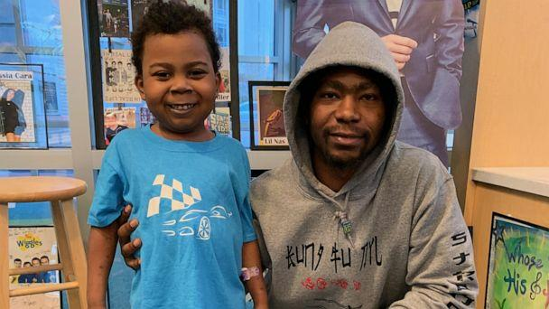 PHOTO: Dylan Nettles with his father. (Children's Healthcare of Atlanta )