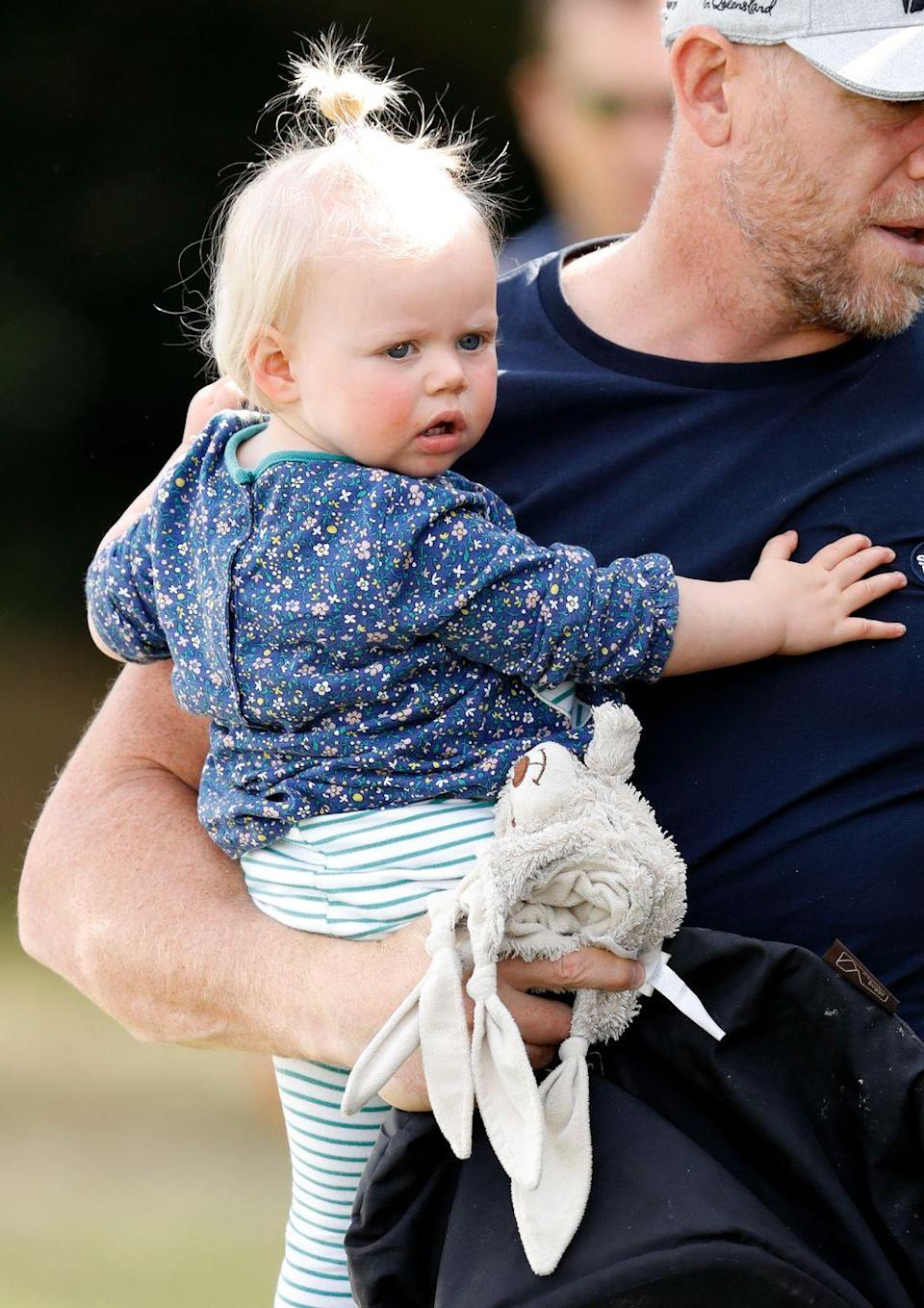"""<p>2018 was an eventful year for the royal family because Zara also <a href=""""https://www.cosmopolitan.com/entertainment/a21968518/zara-tindall-daughter-baby-name-royal-family/"""" rel=""""nofollow noopener"""" target=""""_blank"""" data-ylk=""""slk:gave birth"""" class=""""link rapid-noclick-resp"""">gave birth</a> to her daughter Lena Elizabeth, who was named after the queen, on June 19. Baby Louis and Lena Elizabeth are definitely playdate buddies. </p>"""
