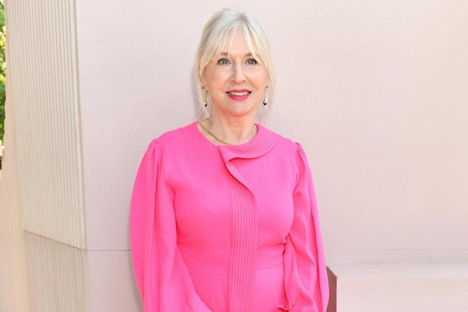 Nadine Dorries attended Roksanda's  London Fashion Week show at the Serpentine Gallery on Monday  (Dave Benett/Getty Images)
