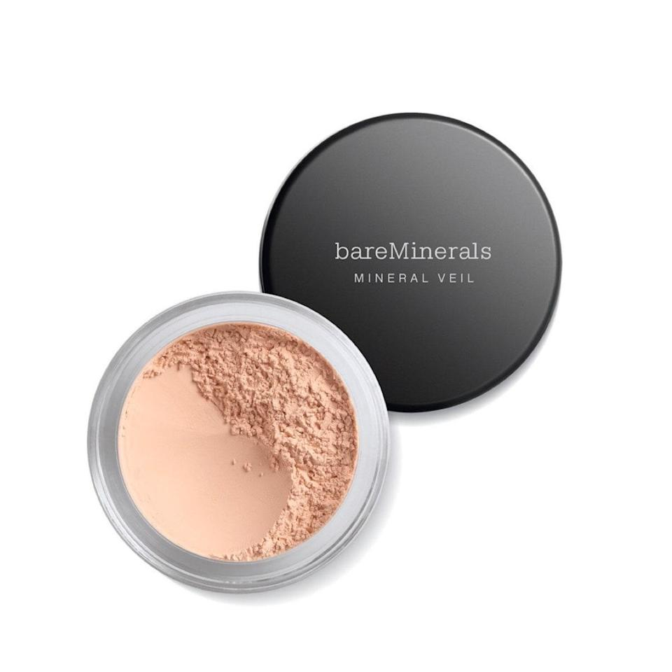 """Use this silky mineral powder to finish off your makeup application, or dust it over bare skin to blur pores, lines, and shine. You'll be Zoom-ready in seconds. $25, Ulta. <a href=""""https://shop-links.co/1716506580293054204"""" rel=""""nofollow noopener"""" target=""""_blank"""" data-ylk=""""slk:Get it now!"""" class=""""link rapid-noclick-resp"""">Get it now!</a>"""