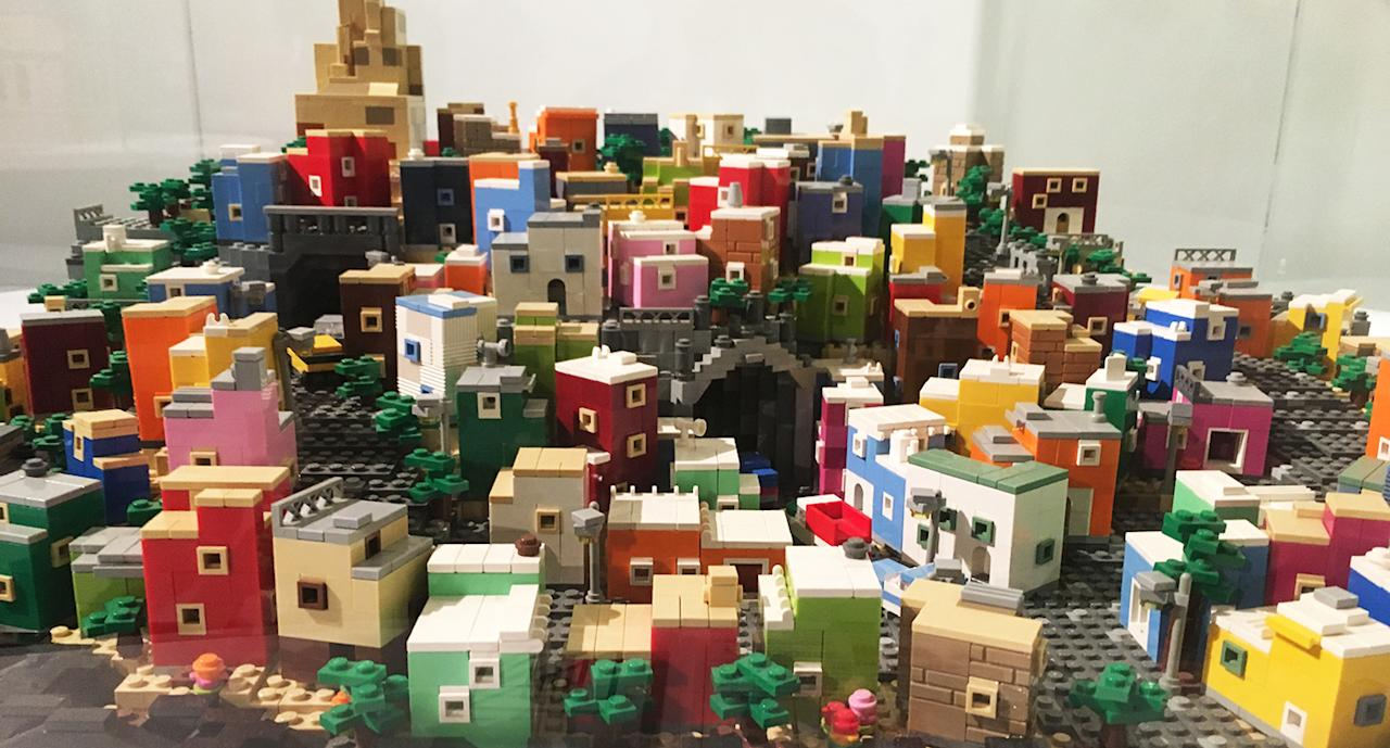 <p>LEGO replica of UNESCO heritage site: Historic Town of Guanajuato and Adjacent Mines (Mexico). (Photo: Gabriel Choo/ Yahoo Lifestyle Singapore) </p>