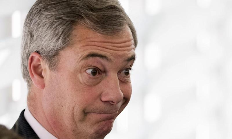 Nigel Farage: 'Not a word our suburban Mussolini said about this atrocity was relevant.'