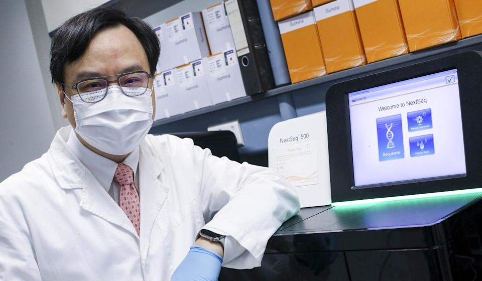 Professor Dennis Lo, pictured at Prince of Wales Hospital in Sha Tin. Photo: K. Y. Cheng