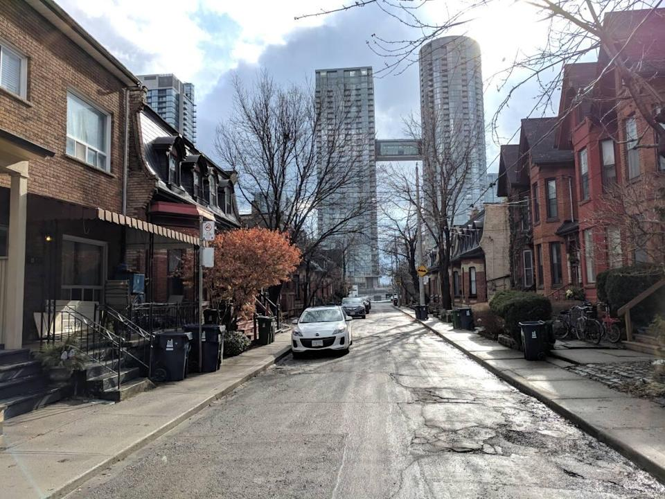 Toronto's extreme lack of affordable housing means rooming houses are one of very few options for people in lower income brackets, such as students, new immigrants and people reliant on social assistance.  (Don Pittis/CBC - image credit)