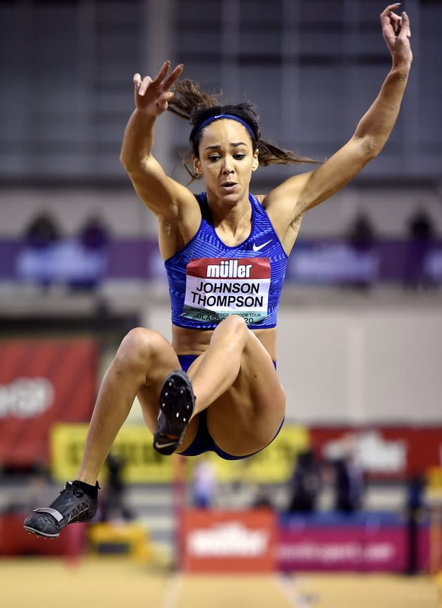 Great Britain's Katarina Johnson-Thompson was expected to challenge for Olympic heptathlon gold this year (Ian Rutherford/PA)