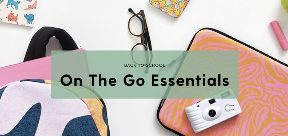 Society6 On The Go Essentials