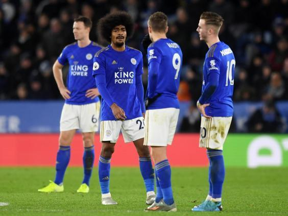 Leicester struggled for structure and shape against Southampton (Getty Images)