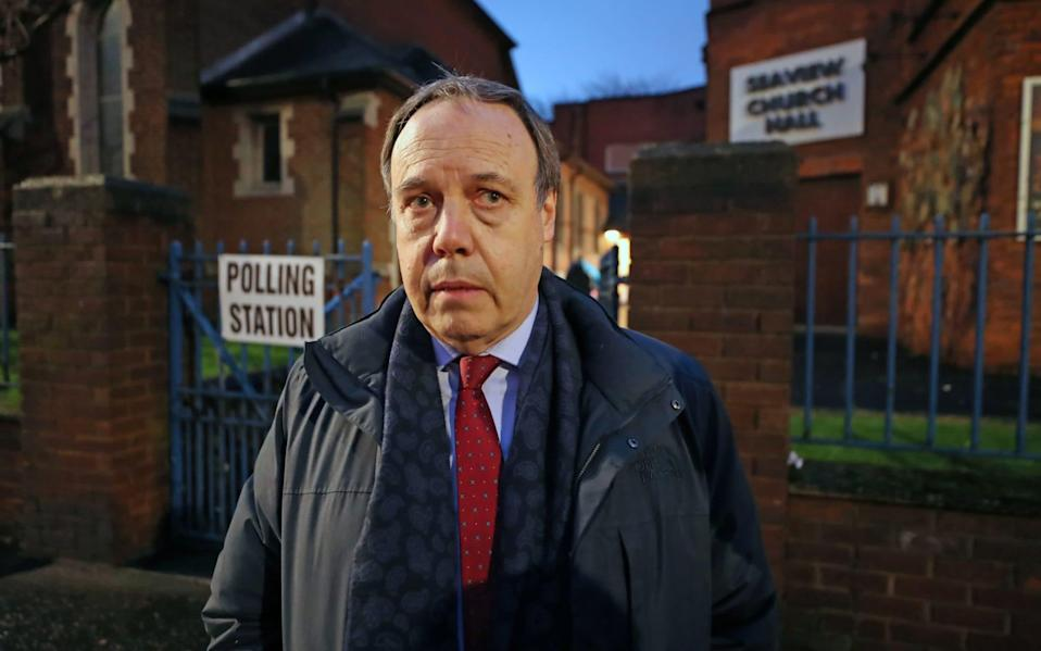 Lord Dodds formerly served as the DUP's Westminster leader - PA