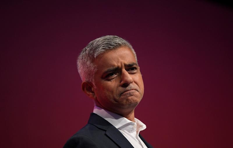 The mayor of London, Sadiq Khan, is pushing for a second Brexit referendum. (Toby Melville/Reuters)