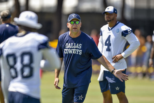 Looking for work: The Dallas Cowboys have parted ways with offensive coordinator Scott Linehan. (AP)