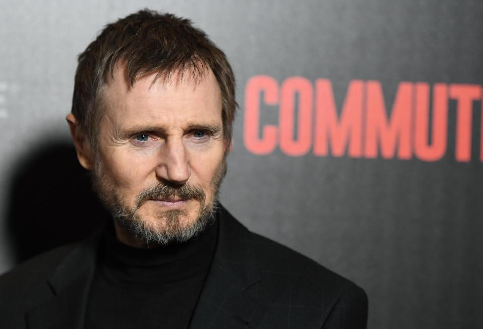Liam Neeson (Credit: Angela Weiss/AFP/Getty Images)
