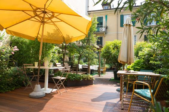 Make use of the terrace at LaFavia Milano (LaFavia Milano)