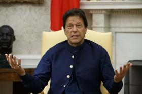 Kashmir first line of defence for Pakistan: Imran Khan