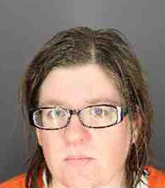 "This undated photo provided by the Chenango County Sherriffs Office shows Heather Franklin. Ernest and Heather Franklin decided to kill their disabled adoptive son and cover up the crime with a house fire after watching the Oscar-winning movie ""Manchester by the Sea,"" according to the New York prosecutor handling the case. (Chenango County Sherriffs Office via AP)"
