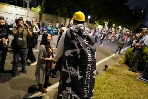 Hong Kong's democracy activists have long maintained close ties with Taipei