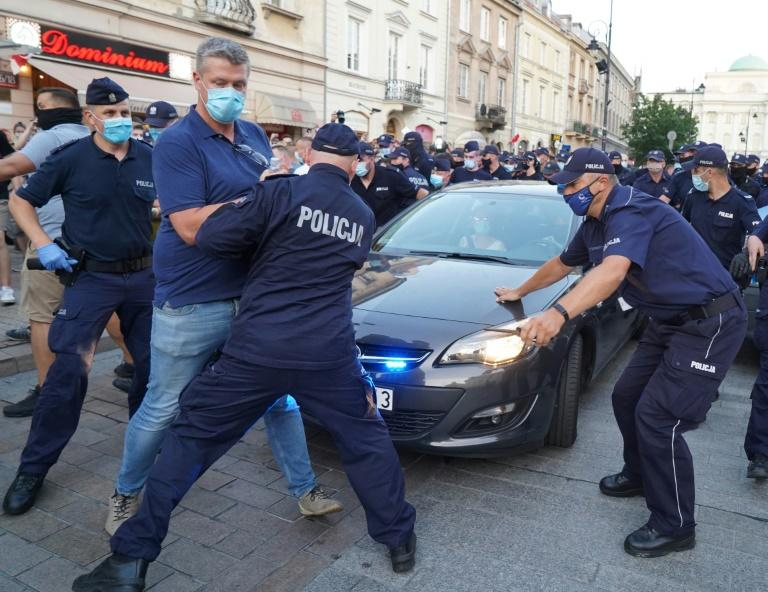 Protest as LGBT activist jailed for 2 months in Poland