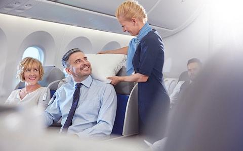 Judge a man by how he treats a flight attendant - Credit: Getty