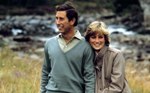 The Prince and Princess of Wales on their honeymoon in Balmoral - Credit: PA