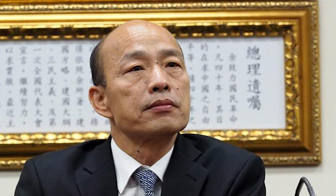 Han Kuo-yu has accused his rivals of trying to smear him. Photo: EPA-EFE