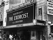 """<p>On December 26, 1973, <em>The Exorcist</em> hit theaters, horrifying audiences everywhere. The movie—which went on to become one of the highest-grossing films ever—was so disturbing that theaters distributed """"<em>Exorcist</em> barf bags."""" Still to this day, the film is often regarded as one of the scariest movies ever made.</p>"""