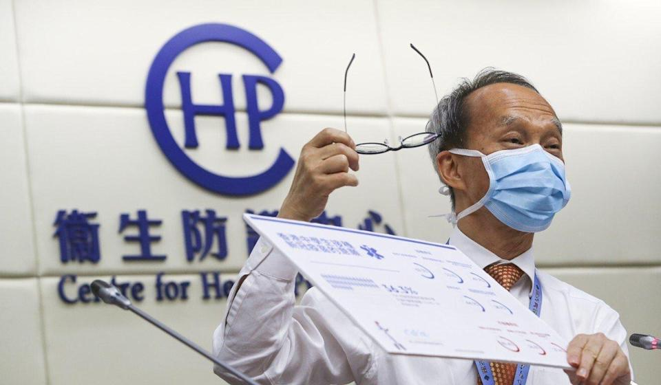Professor Lau Yu-lung says the initial guidelines in February may have deterred some people from getting vaccinated. Photo: Edmond So