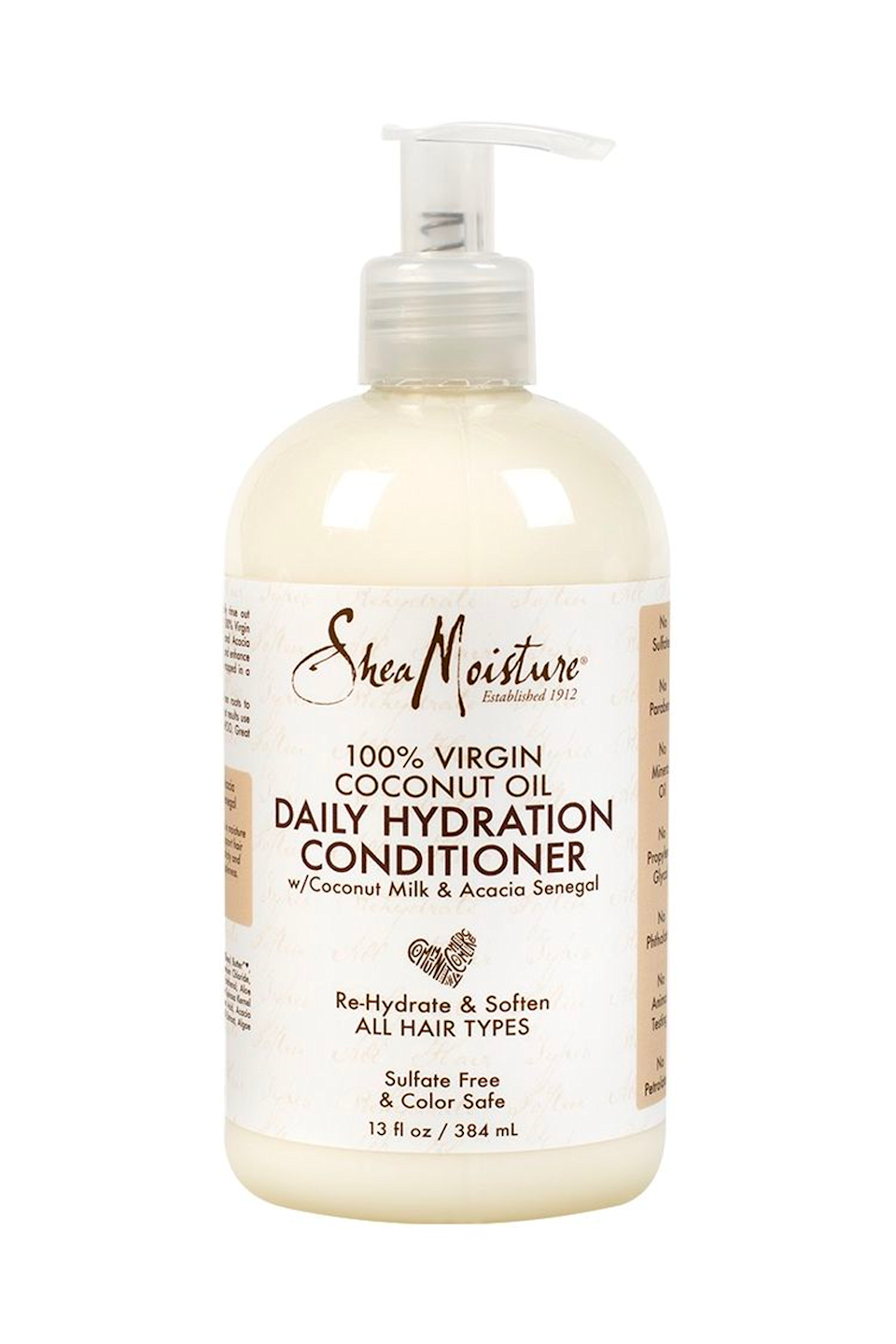 """<p><strong>SheaMoisture</strong></p><p>amazon.com</p><p><strong>$10.68</strong></p><p><a href=""""https://www.amazon.com/dp/B01NCZES6L?tag=syn-yahoo-20&ascsubtag=%5Bartid%7C10049.g.35265911%5Bsrc%7Cyahoo-us"""" rel=""""nofollow noopener"""" target=""""_blank"""" data-ylk=""""slk:Shop Now"""" class=""""link rapid-noclick-resp"""">Shop Now</a></p><p>JSYK, using a cleansing conditioner doesn't mean you can skip out on <em>actual</em> conditioner. After cleansing or rinsing, work this coconut oil formula through your hair from roots to ends, gently detangling with a <a href=""""https://www.amazon.com/HYOUJIN-Detangling-Handgrip-Comb-Best-Styling/dp/B0744CXZD3/?tag=syn-yahoo-20&ascsubtag=%5Bartid%7C10049.g.35265911%5Bsrc%7Cyahoo-us"""" rel=""""nofollow noopener"""" target=""""_blank"""" data-ylk=""""slk:wide-tooth comb"""" class=""""link rapid-noclick-resp"""">wide-tooth comb</a>. This bb is super lightweight—so<strong> n</strong><strong>o need to worry about any greasy residues</strong>.</p>"""