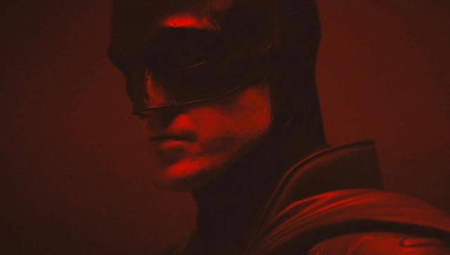 Robert Pattinson as The Batman (Credit: Matt Reeves/Warner Bros)